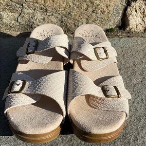 Sanita Women's Sandals Euro 40, USA 10